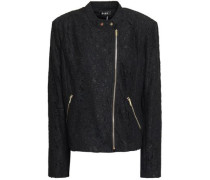 Corded Lace Jacket Black