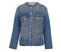 Reiss distressed denim jacket