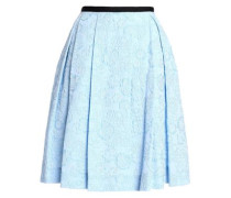 Pleated Cloqué Skirt Sky Blue