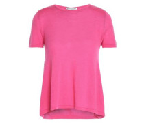 Ruched cutout cashmere top