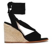 Faco suede espadrille wedge sandals