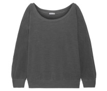 French cotton-terry sweatshirt