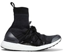 Ultraboost Stretch-knit High-top Sneakers Midnight Blue