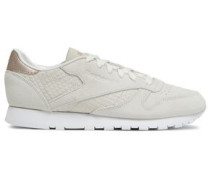 Classic Suede Sneakers Ivory