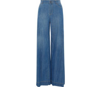 Clarissa high-rise wide-leg jeans
