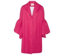 Fluted linen jacket