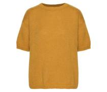 Mohair-blend Sweater Mustard