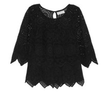 Broderie anglaise chiffon top