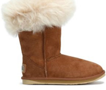 Foxy Shearling Boots Camel