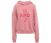 Woman French Cotton-terry Hoodie Pink