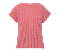 Ribbed-knit Sweater Antique Rose