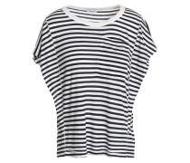 Striped Jersey T-shirt Navy