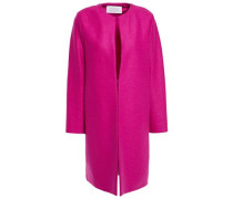 Woman Wool-felt Coat Fuchsia