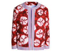 Printed cotton woven jacket