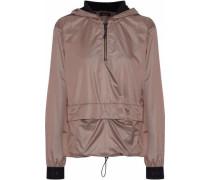 Ground Anorak mesh-paneled shell hooded jacket