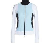 Paneled Stretch Jacket Sky Blue