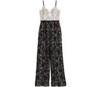Hope two-tone guipure lace jumpsuit