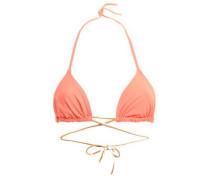 Cinecittà Nicoletta Triangle Bikini Top Coral