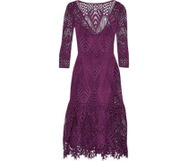 New Moon guipure lace dress