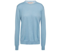Woman Cashmere Sweater Light Blue