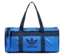 Printed Shell Gym Bag Blue Size --