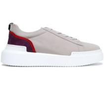 Suede Sneakers Gray