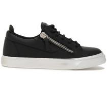 Woman Nicki Leather Sneakers Black