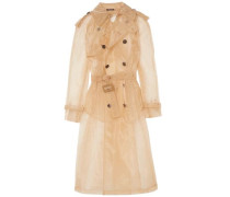 Organza Trench Coat Sand
