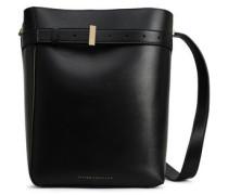 Leather Bucket Bag Black Size --