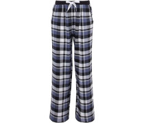 Checked flannel pajama pants