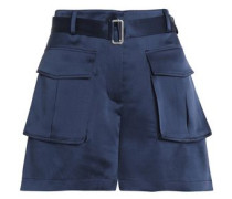 Sailk-satin shorts