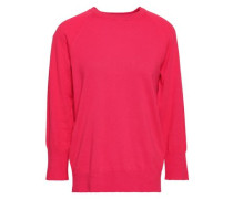 Cotton And Cashmere-blend Sweater Pink
