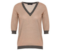 Wool And Silk-blend Sweater Neutral