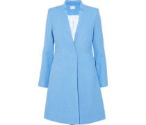 Wool-blend Twill Coat Light Blue Size 0