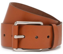 Woman Leather Belt Light Brown
