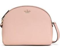 Textured-leather Shoulder Bag Baby Pink Size --