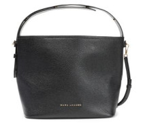 Road Pebbled-leather Shoulder Bag Black Size --