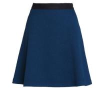 Jeda flared cloqué mini skirt