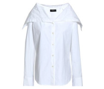 Stretch cotton-poplin shirt