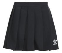 Stretch-knit mini skirt