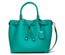 Leather Tote Teal Size --