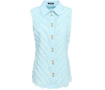 Fil Coupé Cotton-gauze Shirt Mint