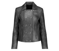 Valo leather biker jacket