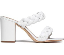 Demi braided leather sandals