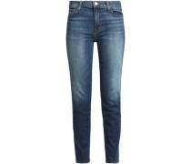 Mid-rise Slim-leg Jeans Mid Denim  5