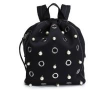 Go-Go embellished shell backpack