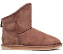Cosy Shearling Ankle Boots Camel