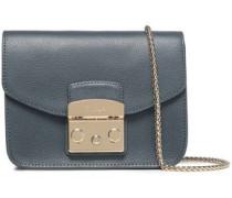 Metropolis Textured-leather Shoulder Bag Anthracite Size --