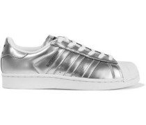 Superstar metallic sneakers