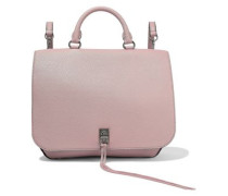 Textured-leather Backpack Blush Size --